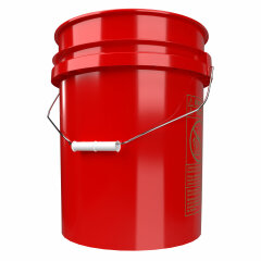 5 Gallonen Eimer ROT made by Grit Guard - RED BUCKET